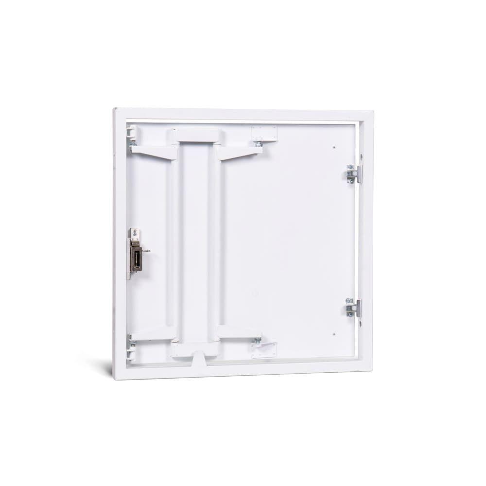 Стальной люк под плитку со сдвижной дверцей Формат МН